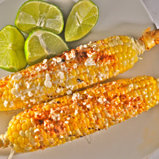 Grilled Mexican Corn (Elote Loco).