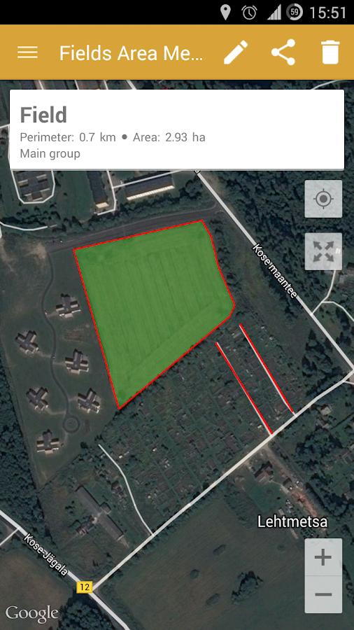 GPS Area Measure | رسانه تی وی