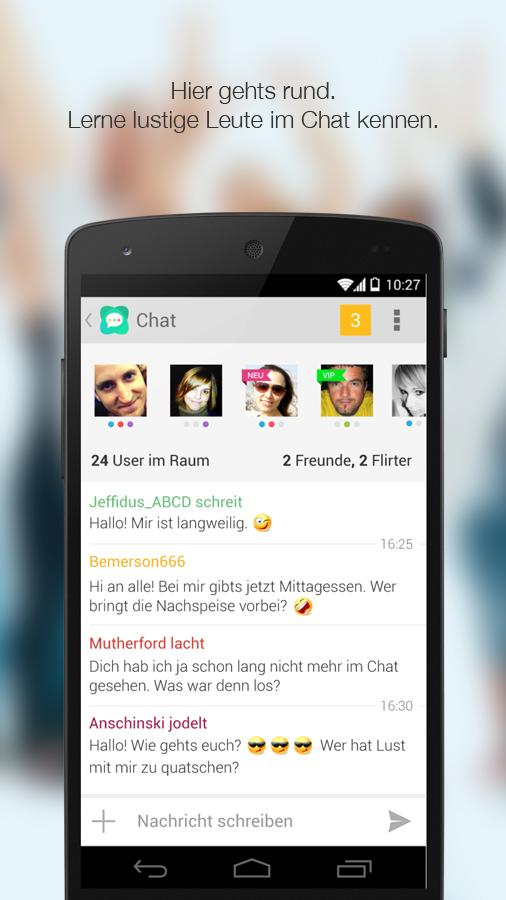 Quatscha.de - Chats & Flirts- screenshot