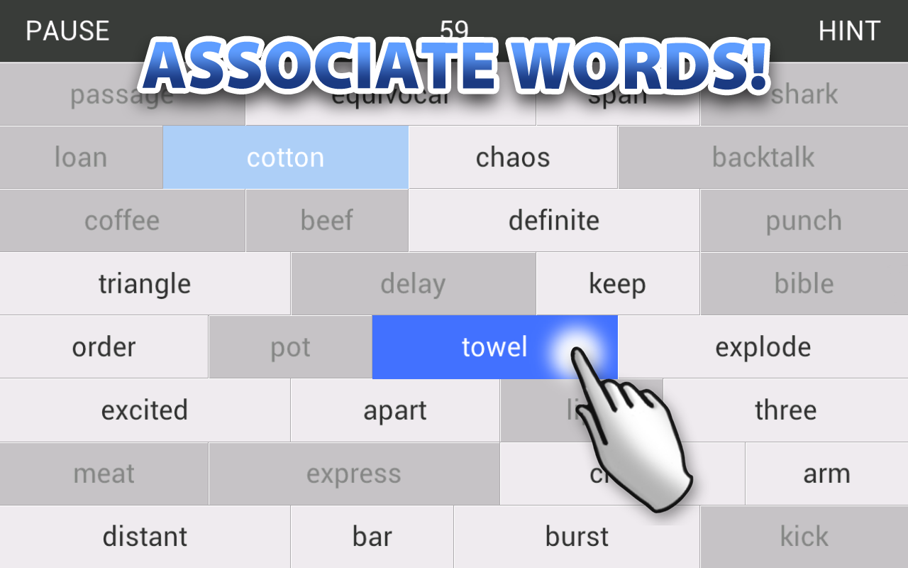 Word Wall - Association Game- screenshot