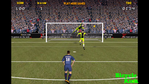 Champions League Bicycle Kick
