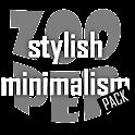 Stylish Minimalism Pack Zooper icon