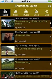 Bhutanese Music Videos - screenshot thumbnail