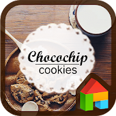 Cookies LINE Launcher theme