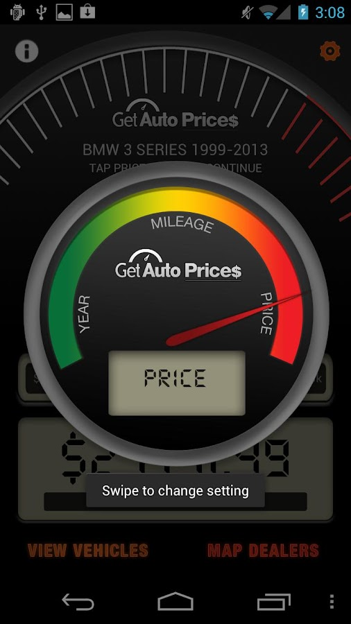GetAuto Prices - screenshot