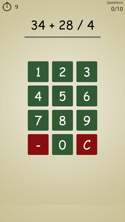 School Math: Brain Training- screenshot