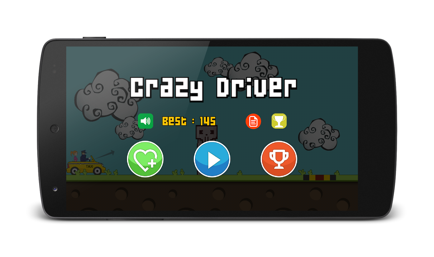 Crazy Driver- screenshot