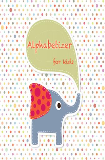 Alphabet for kids ABC