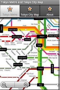 东京地铁运行图 东京地图