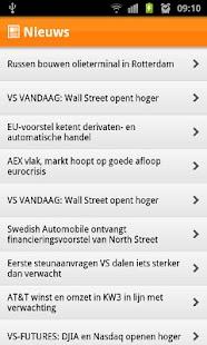 ING Sprinter app - screenshot thumbnail