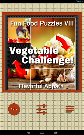 Puzzle Games VIII : Vegetables