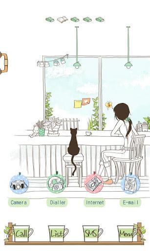 CUKI Theme Blue Sky N Coffee