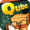 퀴즈 무한도전 – Qube 퀴즈큐브 logo