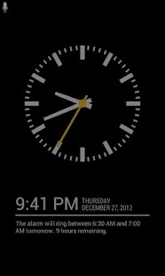 Sleep Tracking Alarm Clock - screenshot thumbnail