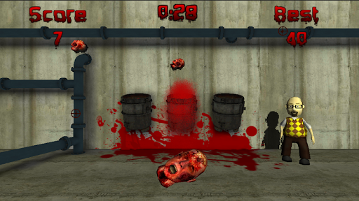 Zombie Head Toss