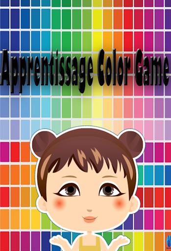 Apprentissage Color Game