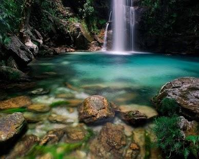 自然景觀:瀑布