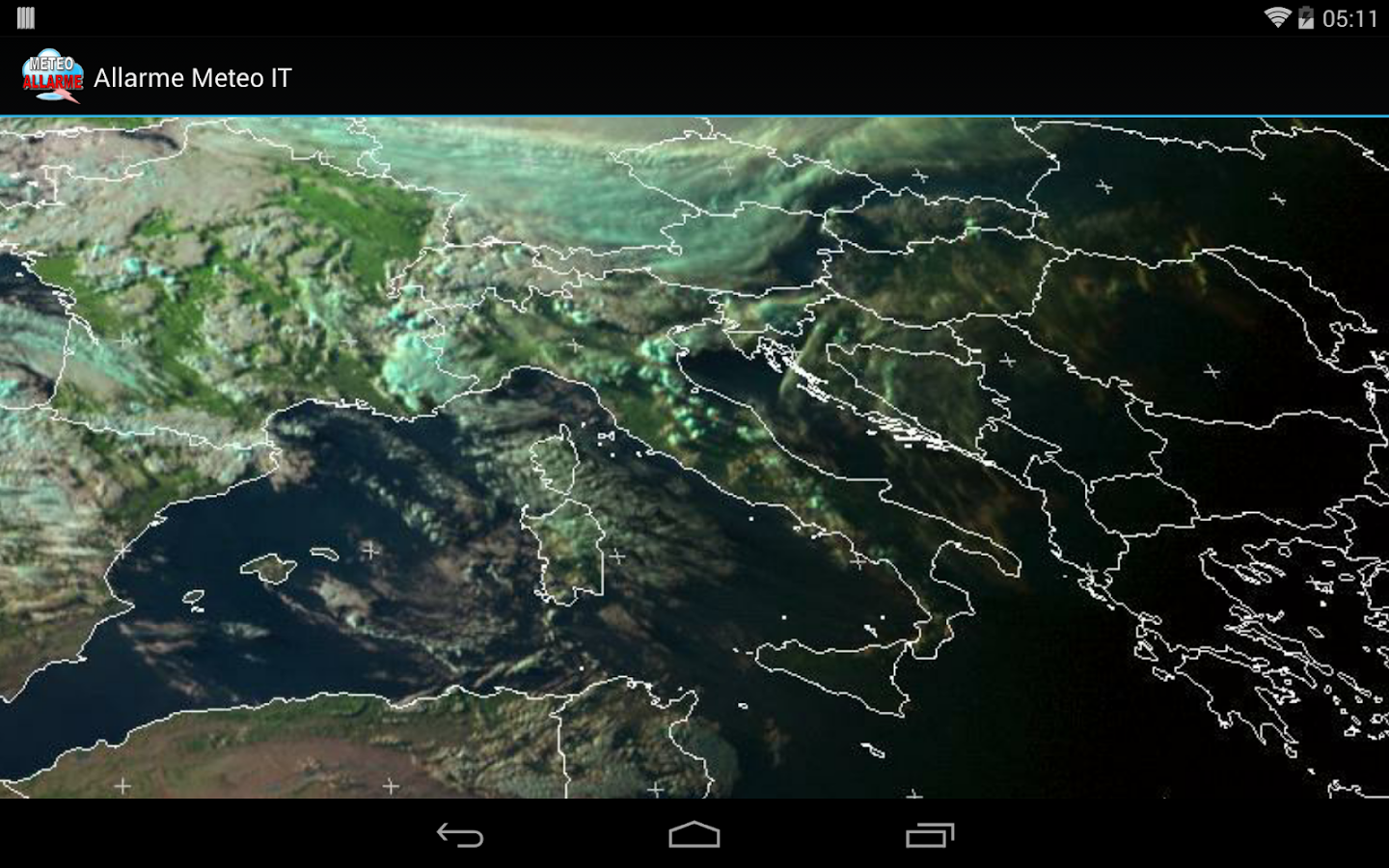 Allarme Meteo IT- screenshot