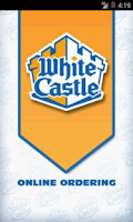 Screenshot of White Castle Ordering