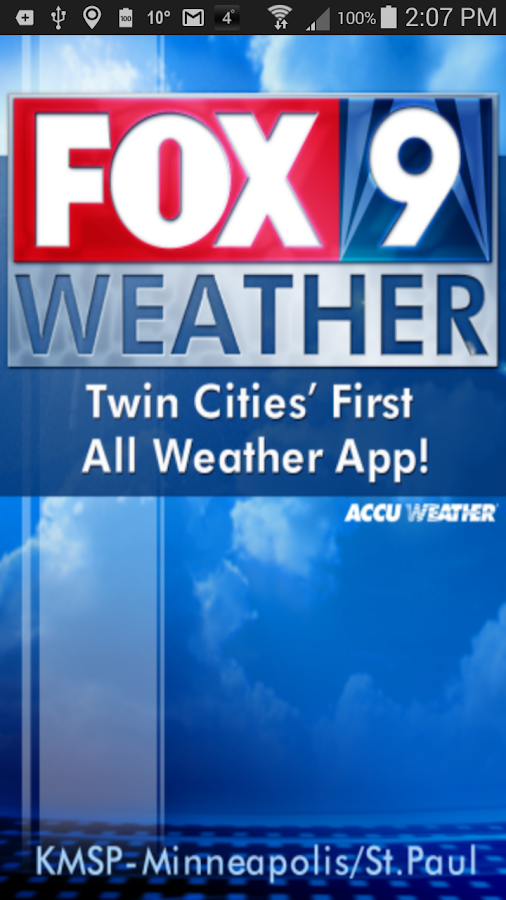 FOX9 Weather - screenshot