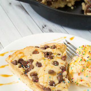 Deep-Dish Skillet Chocolate Chip Cookie.