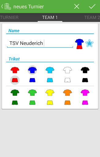 Turnament APP screenshot