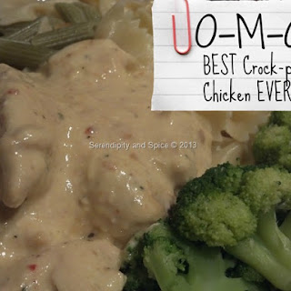 O-M-G BEST Crockpot Chicken EVER