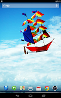 Screenshot of Soaring Kites Live Wallpaper