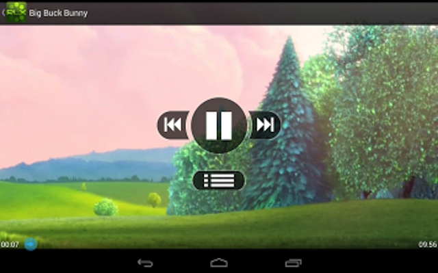 RLX Media Player- screenshot