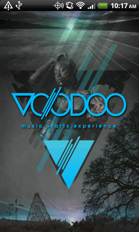 Voodoo Music + Art Experience - screenshot