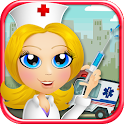 Ambulance Doctor Kid EMT Nurse icon