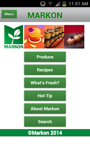 Markon's Produce Guide