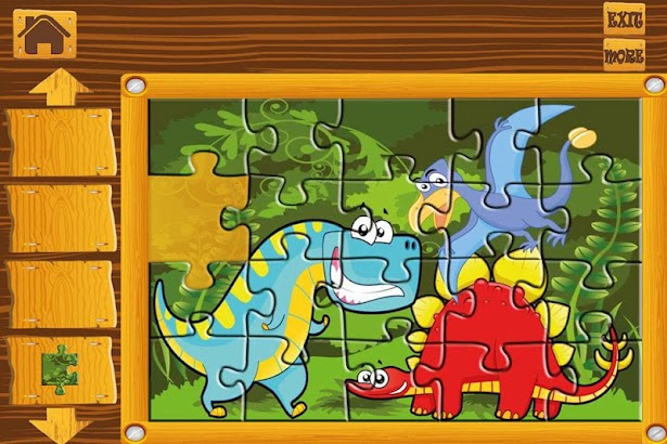Kids Puzzle Game - Dinosaurs screenshot