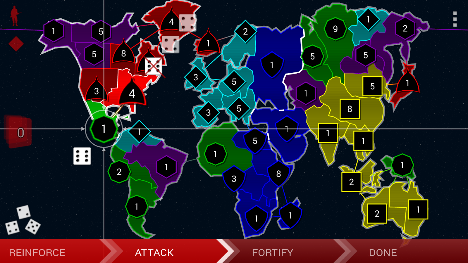 Border Siege [war & risk] - screenshot