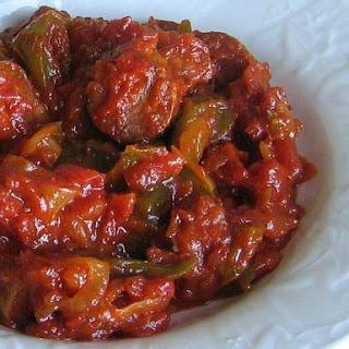 Hungarian Lecso Recipe - Tomato-Pepper Stew