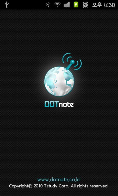 DOTnote- screenshot