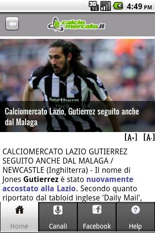 Calciomercato.it- screenshot