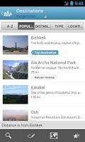 Screenshot of Kyrgyzstan Guide by Triposo