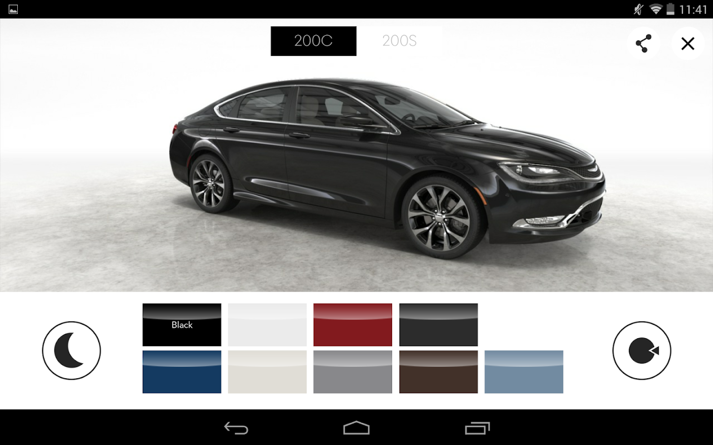 The 2015 Chrysler 200- screenshot