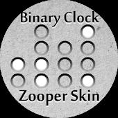 Binary Clock Zooper Skin