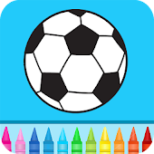 Football Kids Color Game