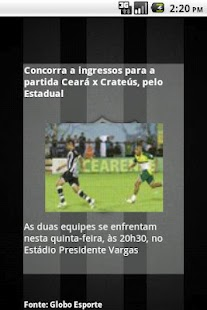 Ceará SC News [beta]- screenshot thumbnail