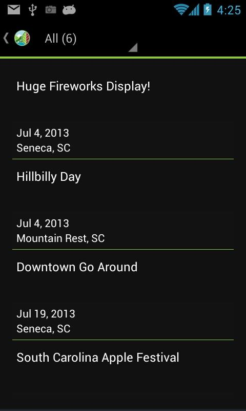 Discover Oconee County SC- screenshot
