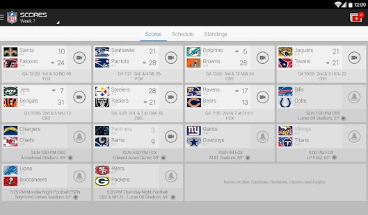 NFL Mobile Screenshot 15