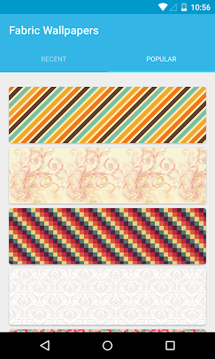 Fabric Wallpapers