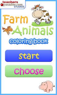 Farm Animals Coloring Book - screenshot thumbnail