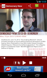 Democracy Now!- screenshot thumbnail