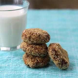 No-Bake Peanut Butter-Graham Cracker Cookies