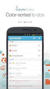 SomTodo - Task/To-Do Manager - screenshot thumbnail