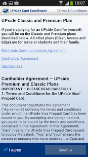 UPside Card - screenshot thumbnail